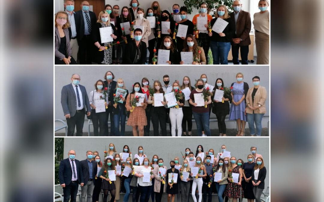 Examen 2020: Das AZP entlässt 50 Pflegefachkräfte